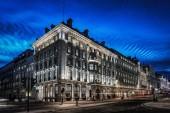 Regent Street London at dusk